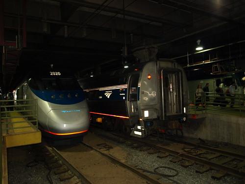 Acela locomotive