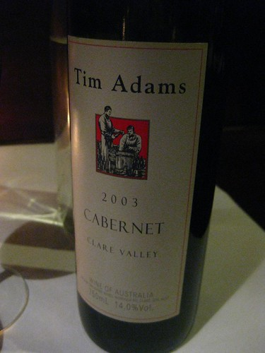 Tim Adams 2003 Cabernet