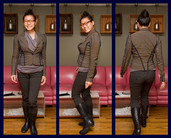 What I Wore on 2011-05-19 (mizmareck) Tags: fashion paulsmith kennethcole whatiwore betseyjohnson personalstyle lacanadienne