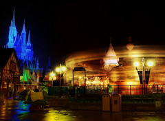 Disney - Dumbo at Night (Explored) (Express Monorail) Tags: longexposure travel walter vacation usa motion blur reflection castle wet night america wonder geotagged fun psp moving interestingness orlando nikon florida availablelight magic tripod dream dumbo wed elias carousel disney mickey disneyworld fantasy mickeymouse imagine theme lighttrails wish orangecounty wdw waltdisneyworld walt magical kissimmee themepark magickingdom attraction fantasyland waltdisney d300 wdi lakebuenavista imagineering cinderellacastle baylake flickrexplore cinderellasgoldencarousel dumbotheflyingelephant waltdisneyworldresort explored disneypictures disneyparks disneyafterdark disneypics expressmonorail disneyphotos paintshopprophotox2 castledreamlights disneyphotochallenge disneyphotochallengewinner joepenniston disneyphotography geo:lon=81580778 disneyimages geo:lat=28420491