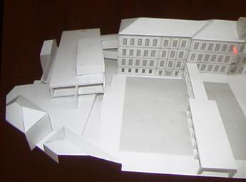 maquete/ novo edificio liceu sá de miranda