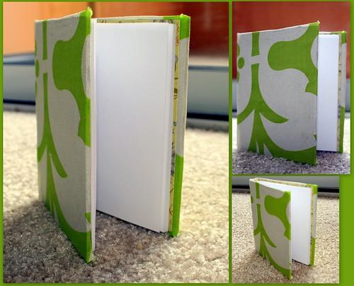 Fabric Covered Hardbound Journal