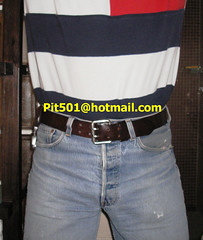 Pit501-2009.02.24-001 (pit501) Tags: gay belt crotch well jeans worn torn tight levis bulge schwul 501s pit501