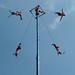 Voladores in Chapultepec Park