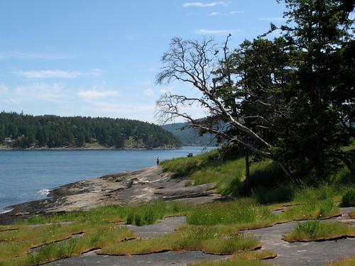 Bellhouse Park and Mayne Island