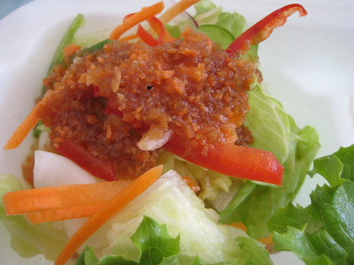Salad (red&green pepper, carrot, lettuce)