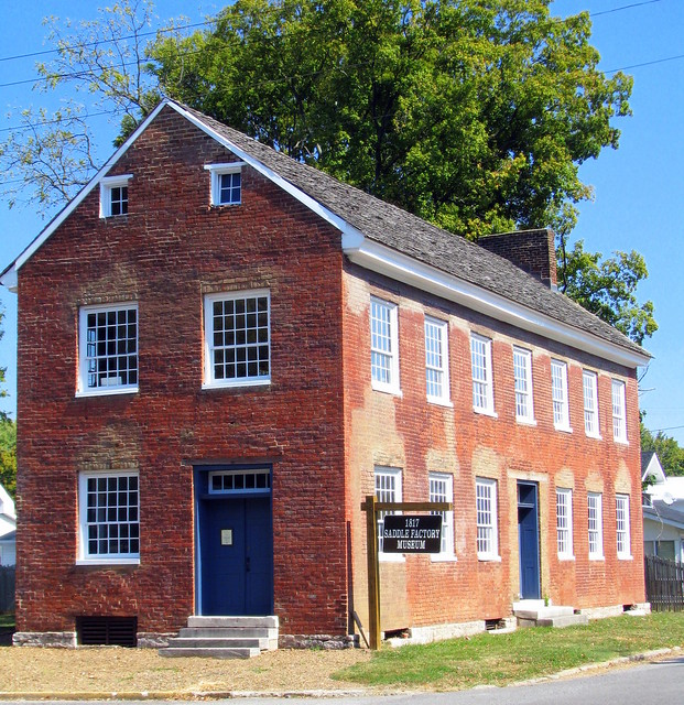 1817 Caldwell Saddle Factory