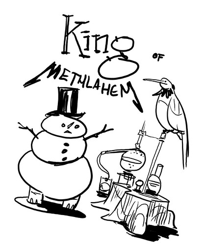 King of Methlahem Alternatve Cover Design