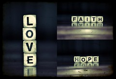 So these 3 things remain: faith, hope, and love. But the greatest of these is love. (Stephen.James) Tags: love hope christ god faith jesus bible choice unconditional