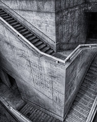 ...and back again (dai oni) Tags: bw white black japan architecture stairs concrete island japanese grey design nikon gray steps architect nikkor escher hdr awaji ando tadao 2470 yumebutai chaoticsoul d700 texturesbyghostbones skeletalmess