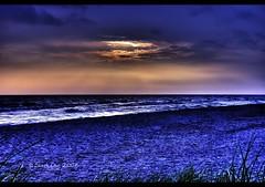 Sea of Tranquility (Craig - S) Tags: blue sunset lake beach michigan hdr ludington lightroom mwqio