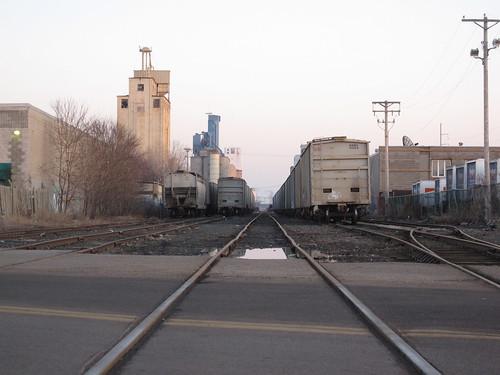 33rd st Railroad Crossing