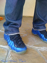 what did you wear today (Never Wear Them) Tags: neon you royal wear penny what did today foamposite wdywt