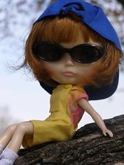 Gwennie at the park...