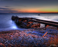 Abandoned? (gwhiteway) Tags: canada water sunrise newfoundland wharf tup omot colorphotoaward cans2s theunforgettablepictures musgraveharbour theperfectphotographer goldstaraward tup2 alemdagqualityonlyclub mygearandmepremium mygearandmebronze mygearandmesilver