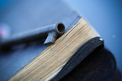Secret Thoughts (Rudy Malmquist) Tags: macro book key pages lock secret diary journal mm monday locked macromonday