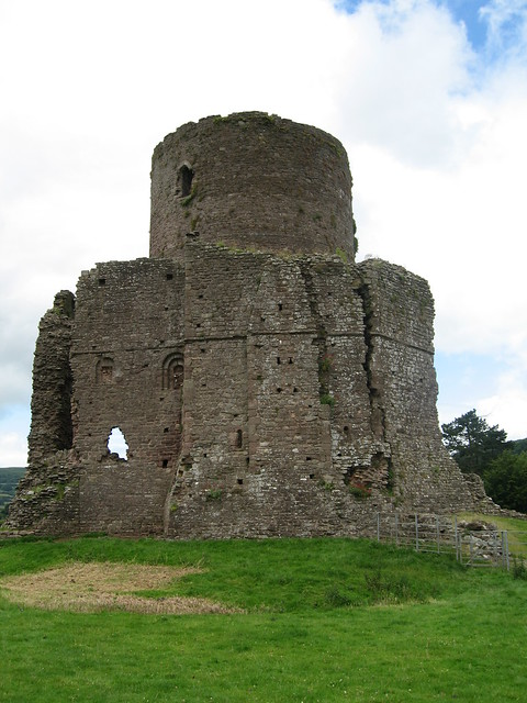 Tretower Castle, Wales