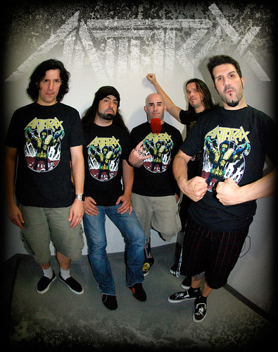Anthrax metal thrashing mad