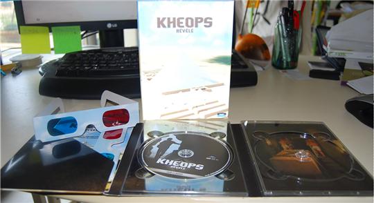 kheops révélé DVD