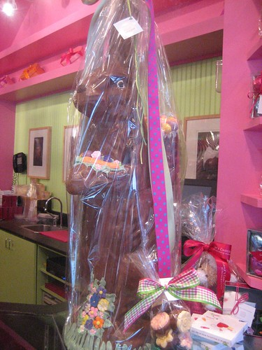 Three Foot of Solid Chocolate Bunny