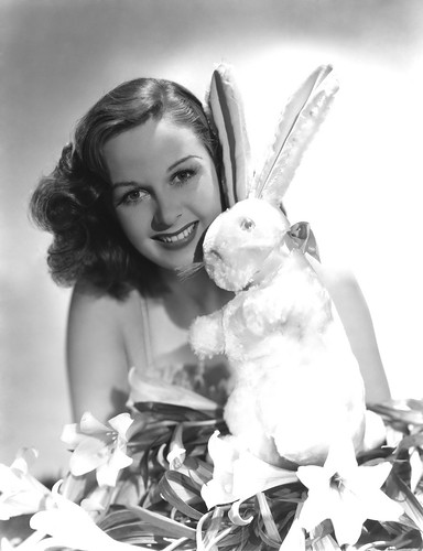 susan hayward easter bunny by carbonated