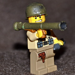 Bazooka-Front (The Ranger of Awesomeness) Tags: lego wwii custom roar roa brickarms willchapmanshouseofpancakes wchop