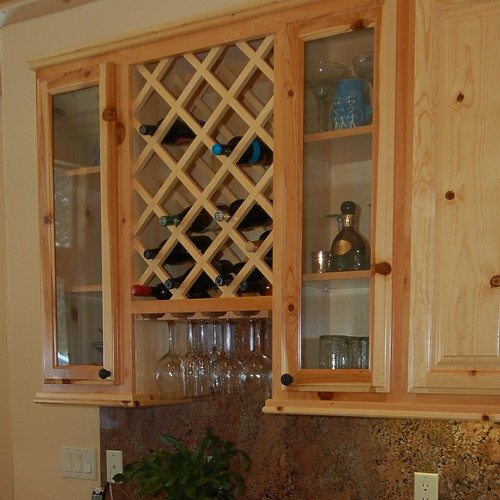 custom design woodworks » Blog Archive » Wine Cubbies