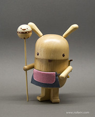 Fanelli - Designer Wooden Figures (Noferin.) Tags: wood sculpture cute happy design twins object kawaii figure packaging woodstain rattle noferin pecanpals apronnoferin