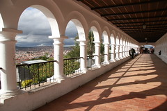 Sucre (chris.bryant) Tags: people sun sol southamerica clouds shadows view bolivia arches vista soe breathtaking wmp ih sucre sudamerica americadosul awesomeshot blueribbonwinner otw peoplestanding supershot 5photosaday bej abigfave platinumphoto anawesomeshot superaplus aplusphoto ultimateshot flickraward diamondclassphotographer flickrdiamond citrit citritgroup overtheexcellence concordians theperfectphotographer simplysuperb worldtrekker rubyphotographer qualitypixels breathtakinggoldaward 5halloffame goldenheartaward artofimages atomicaward boliviafotogenica expressyourselfaward