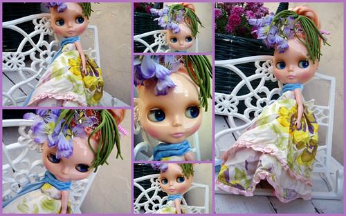 Mademoiselle Rosebud Plays Dress-Up (collage 1)