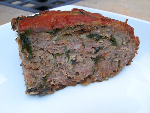 Kale & Mushroom Meat Loaf