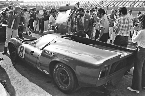 James Garner At Daytona 1969