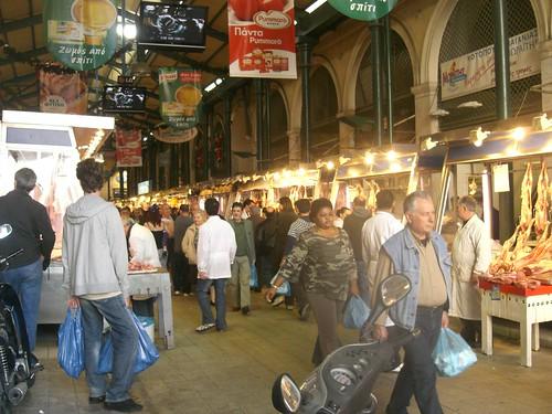 varvakeios meat market athens