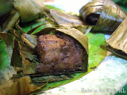 KT - Pandan Leaves Chicken = opened