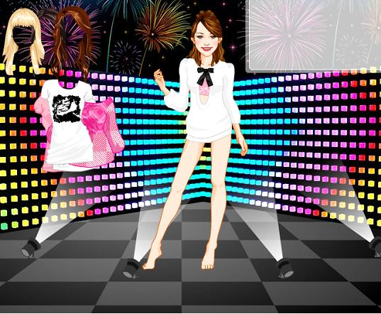 miley cyrus dress up game online