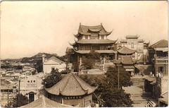 - (China Postcard) Tags: china old history vintage temple photo buddha postcard chinese buddhism figure  joss    pogoda          comfucions