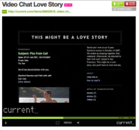Video Chat Love Story