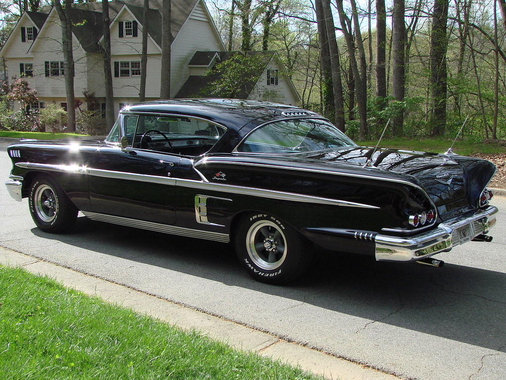 1958 Impala Black 502 Part III 028 For Sale!