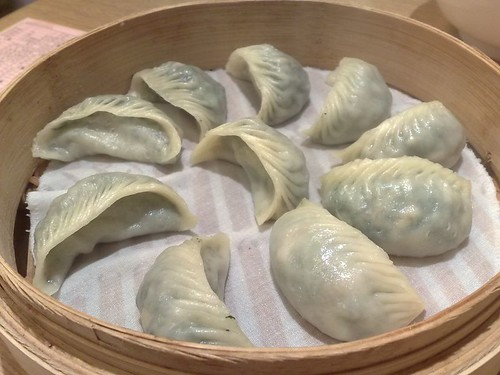 Mushroom and Vegetable Dumplings