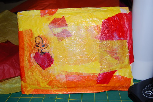 Altered/Recycled Padded Mailer (Tutorial)