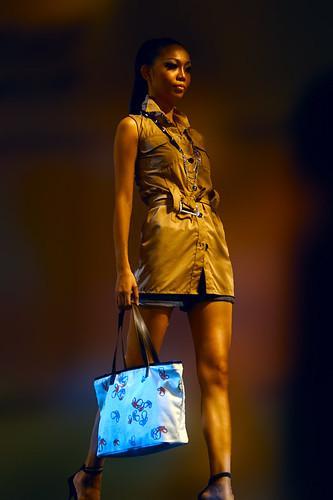 Fashion parade at Metrojaya