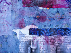 background details (Windy Angels) Tags: woman art me beautiful beauty altered book words women board details daughters free blues wip grace mothers textures angels strong layers strength gigantic aunties grandmothers courage proportions purples windyangels whoisthiswoman winnsangels