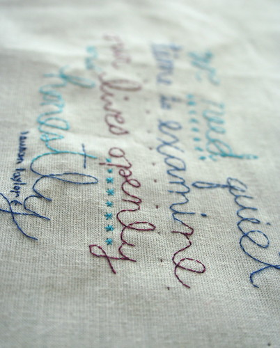 Stitched words