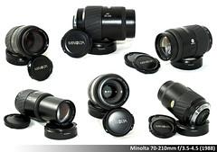 Minolta 70-210mm f/3.5-4.5 (1988) (davic) Tags: david lens minolta 1988 lente lentes 70210 lenses cornejo davic objetivo 70210mm f3545 objetivos minolta70210 filtro55mm minolta70210mm 420gr davidcornejo