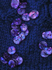 owlet buttons - sparkly!