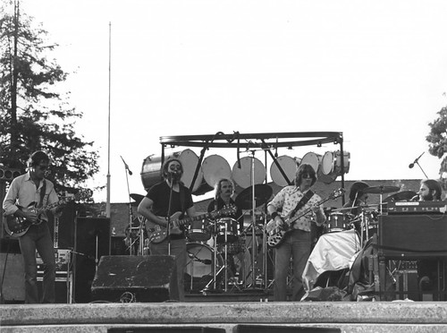 Grateful Dead on 4/22/79 at Spartan Stadium, San Jose, California [copyright/photographer unknown]