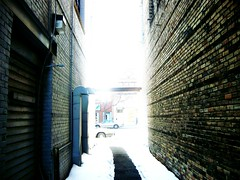 Back Alley (dustinsimmonds) Tags: minnesota dark town alley little falls mn