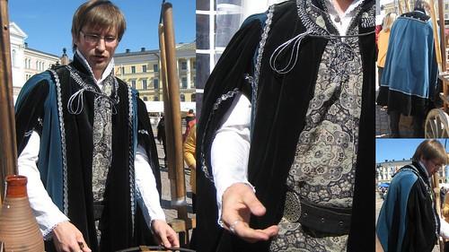 1500-luku miehenvaatteet