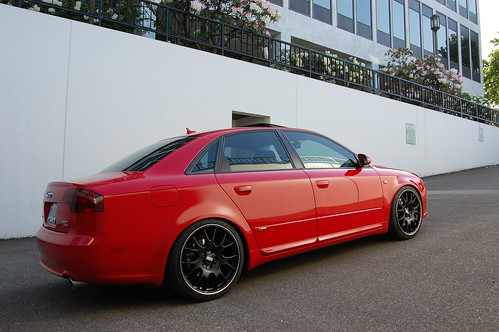 Audi A4 S Line. Audi A4 S-Line on BBS CH Black