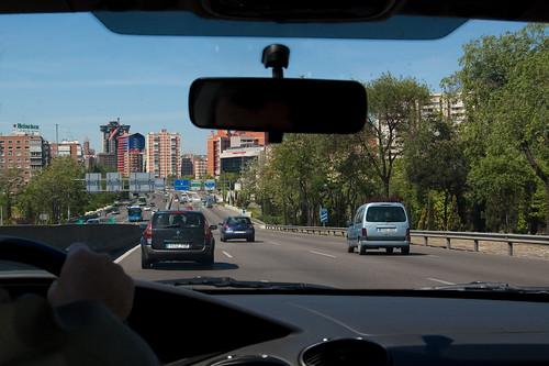 Entrando a Madrid por la A-2